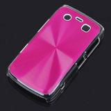 Bescherm hoesje met aluminium achterzijde voor de Blackberry 9700 (roze)_6