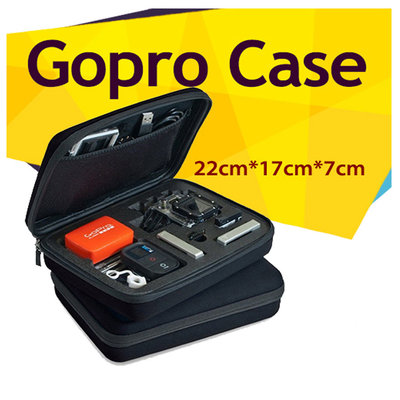 GoPro hero carry case opberg etui medium (black)