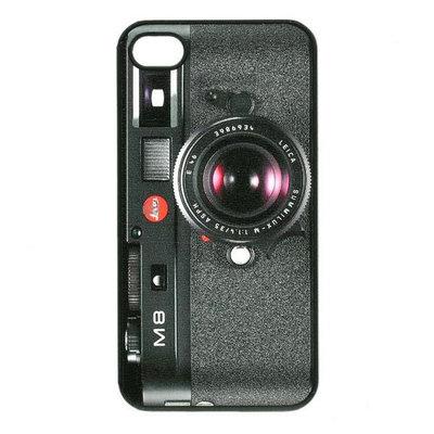 bescherm case cover camera foto toestel voor iPhone 4/4s (zwart)