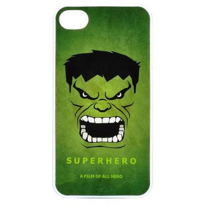 bescherm case cover de incredible hulk voor iPhone 4/4s (groen)