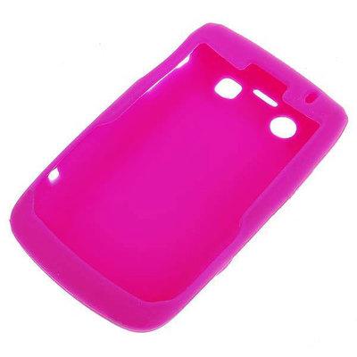 Siliconen hoesje voor Blackberry 9700/9020 (roze)