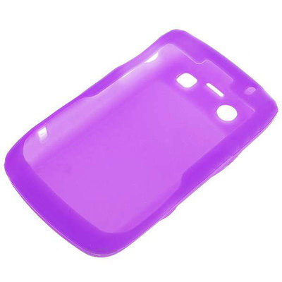 Siliconen hoesje voor Blackberry 9700/9020 (paars)