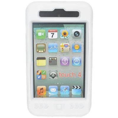 Super beschermhoes voor de iPod touch 4 (Wit)