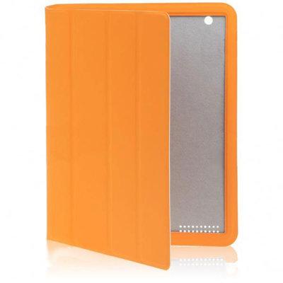 Mooi afgewerkte Cover met slaap/waak functie voor iPad 2 (Oranje)