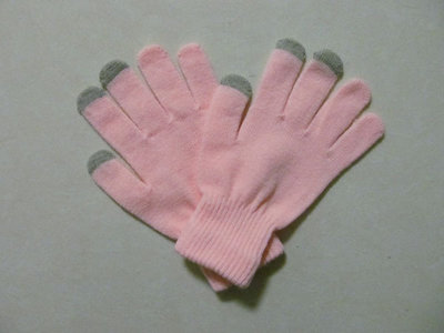 capacitive touchscreen handschoenen gloves (roze)