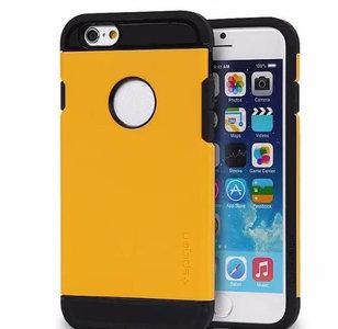 Tough armor spigen sgp hoesje voor iPhone 6 - 4.7inch (geel)