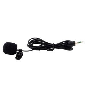 Clip-on action microfoon voor goPro 3,5mm plug exclusief adapter