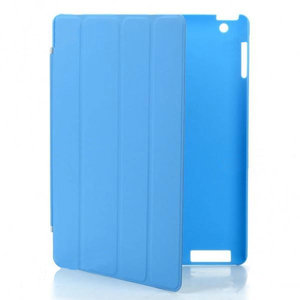 KP Smartcover met achterkant beschermer (blauw)
