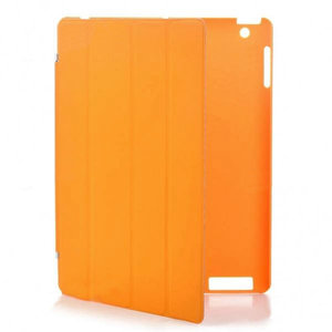KP Smartcover met achterkant beschermer (oranje)