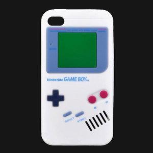 Siliconen Bescherm hoesje Gameboy voor iPhone 4/4s