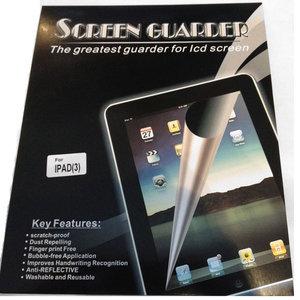 Bescherm folie voor de new iPad (iPad 3)