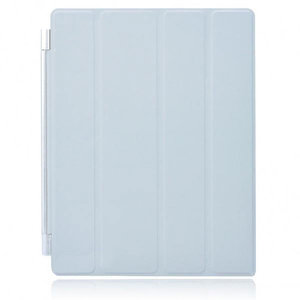 KP Smartcover met slaap/waak functie voor iPad 2 en New iPad (iPad 3) (grijs)