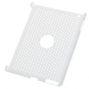 KP Smartcover achterkant beschermer gatenkaas voor ipad2 (wit)