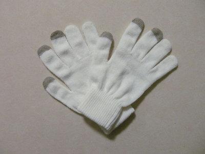 capacitive touchscreen handschoenen gloves (wit)